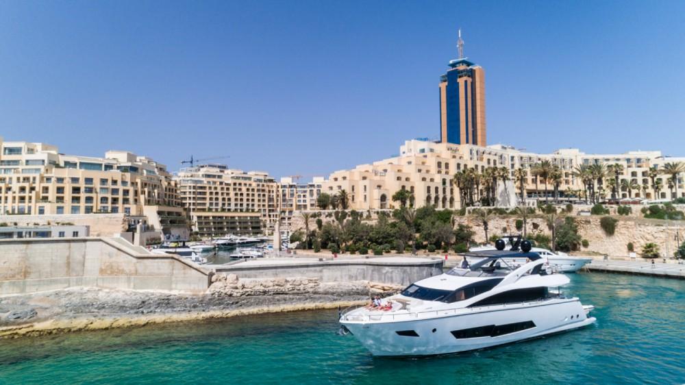 Sunseeker Yacht 86 between personal and professional Saint Julian's