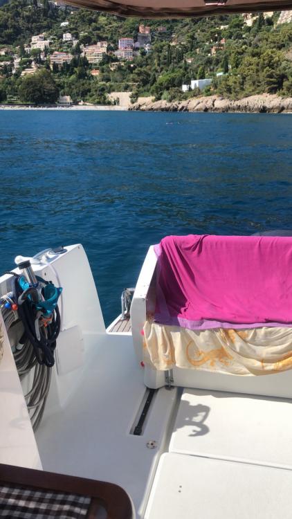 Rental Motorboat in Menton - Jeanneau Merry Fisher 855