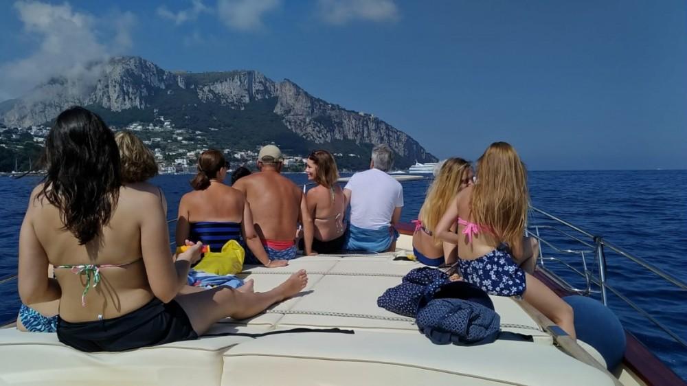 Sorrentino Gozzo Futura 38' Cabin between personal and professional Naples