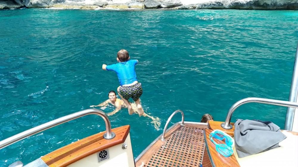 Boat rental Naples cheap Futura 38' Cabin