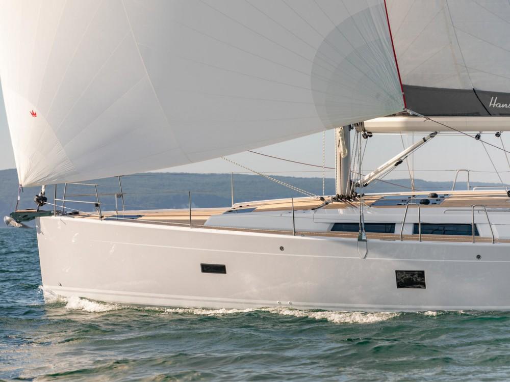 Boat rental Seget Donji cheap Hanse 458