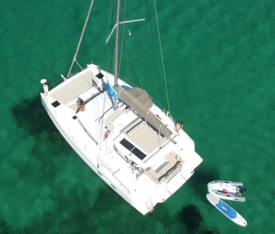 Hire Catamaran with or without skipper Catana Olbia