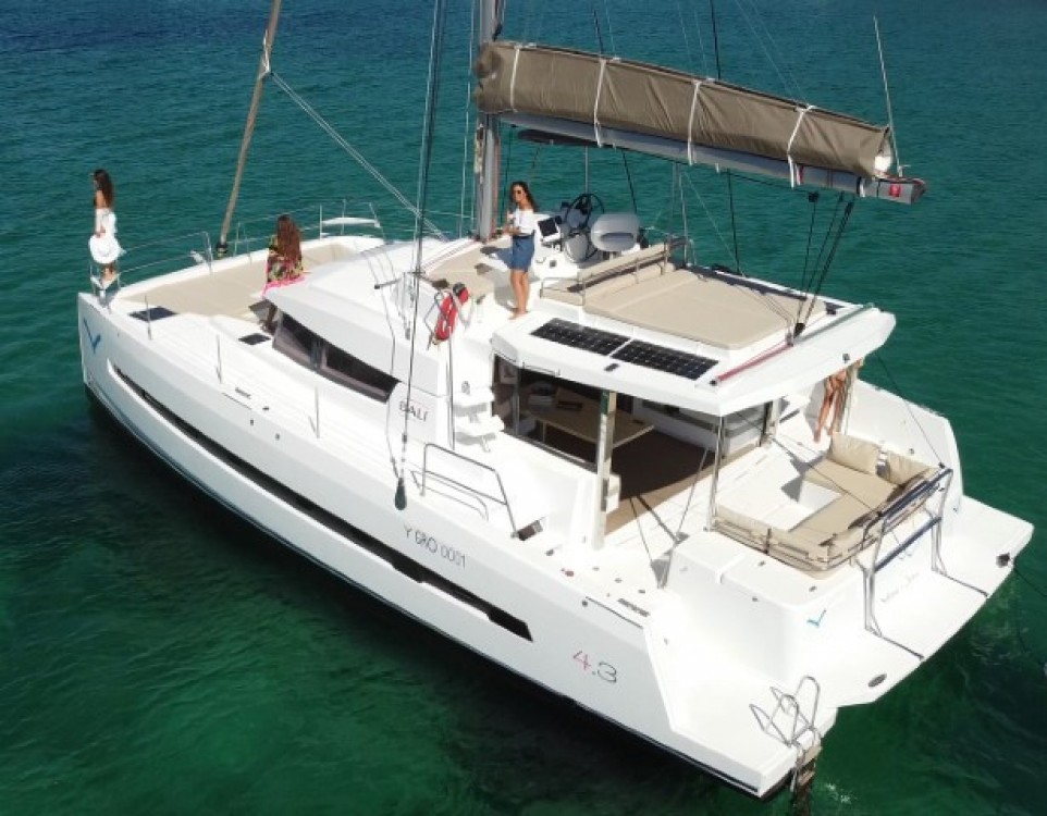 Catana Bali 4.3 between personal and professional Olbia