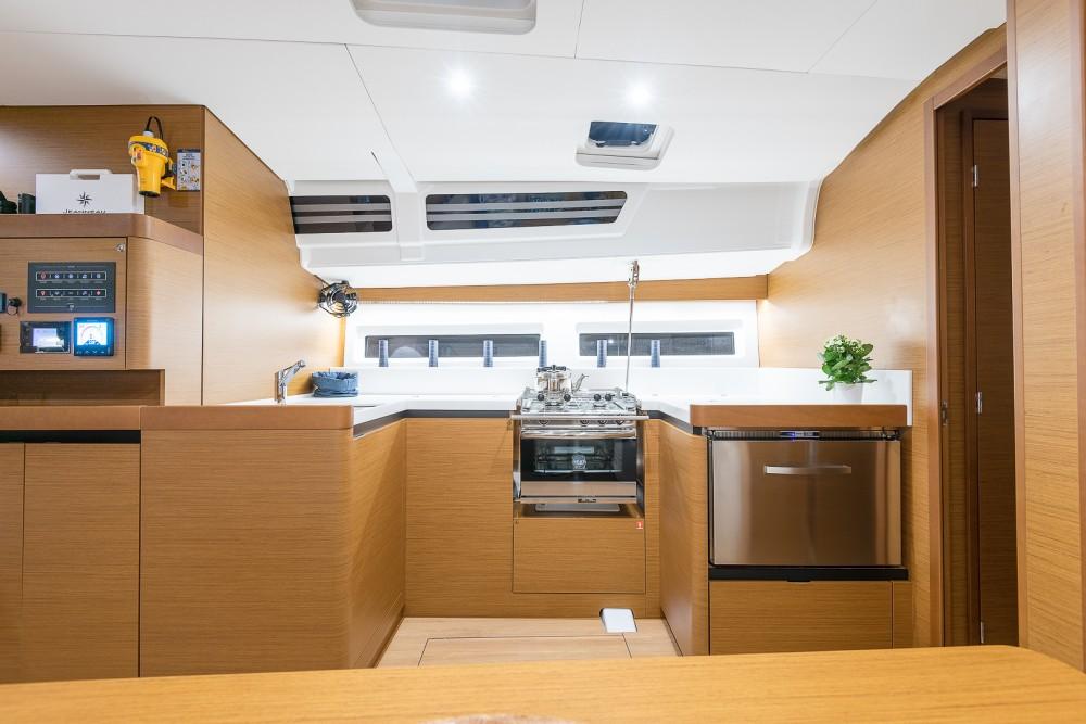 Boat rental Álimos cheap Sun Odyssey 490