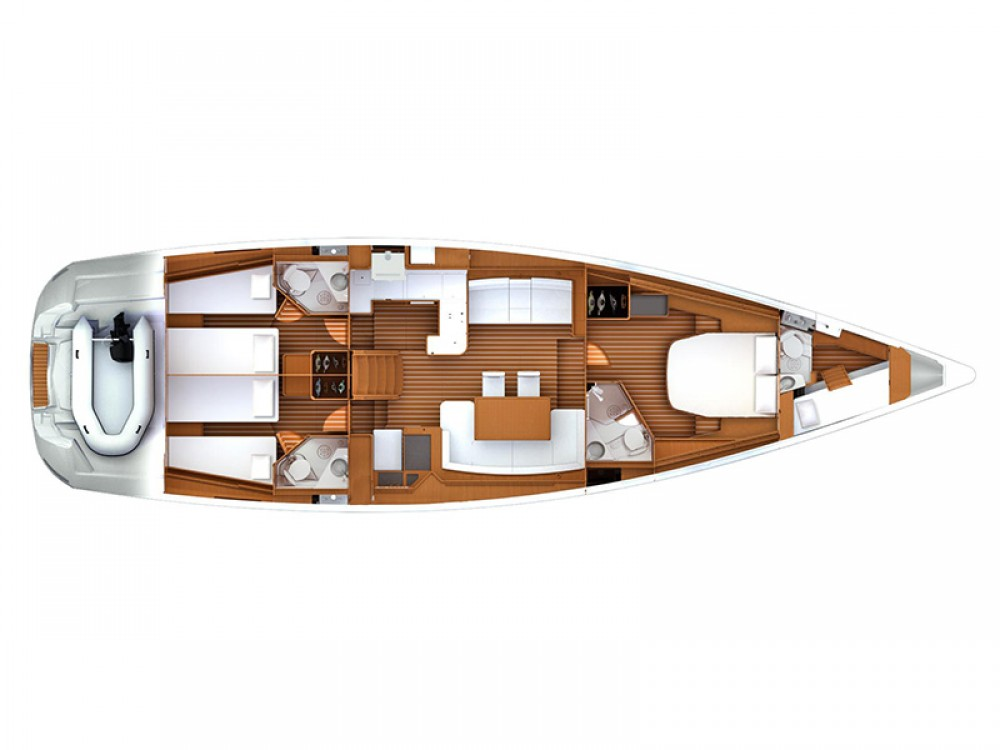 Rental Sailboat in Šibenik - Jeanneau Jeanneau 57