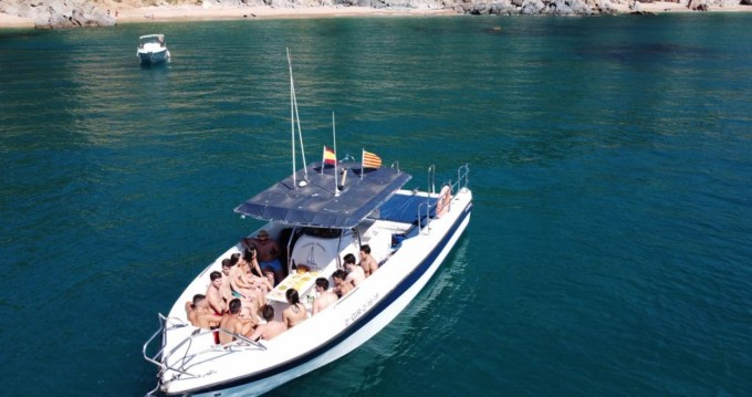 Hire Motorboat with or without skipper Quer Blanes