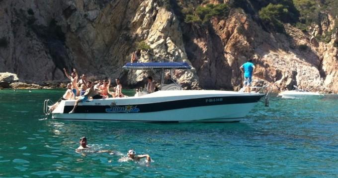 Boat rental Blanes cheap 32