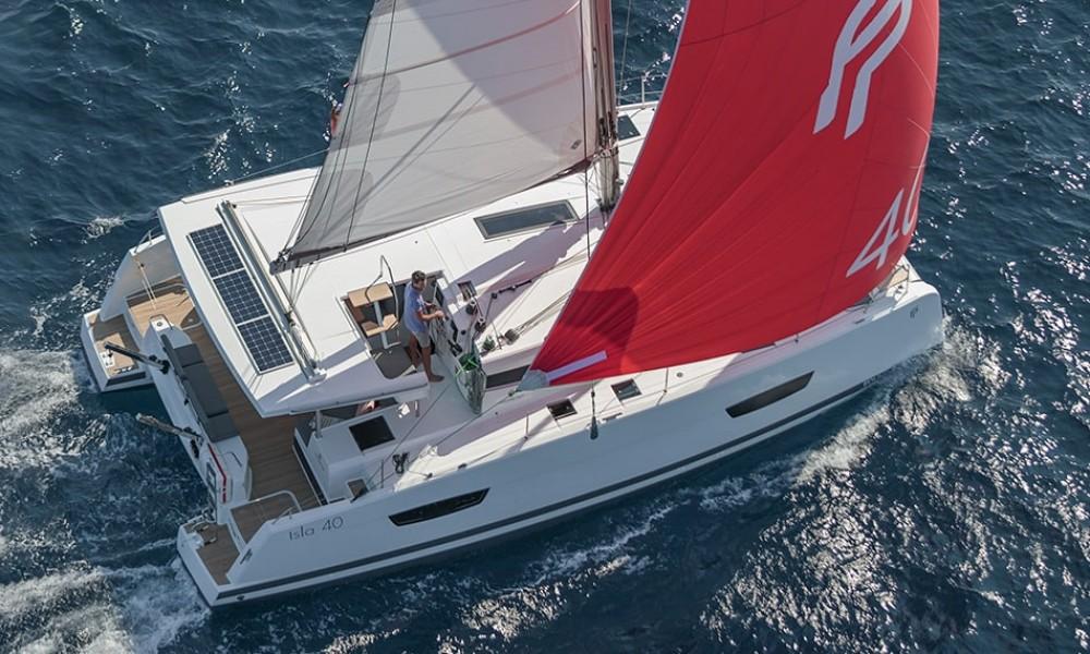 Rental Catamaran in Lefkada - Fountaine Pajot Isla 40