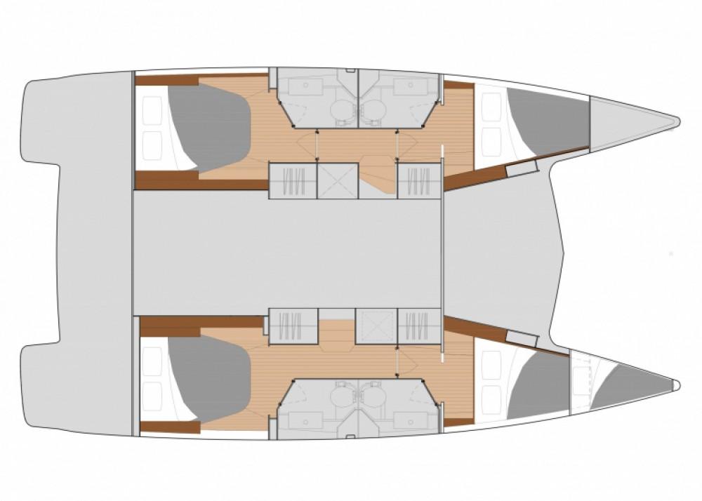 Boat rental Lefkada cheap Isla 40