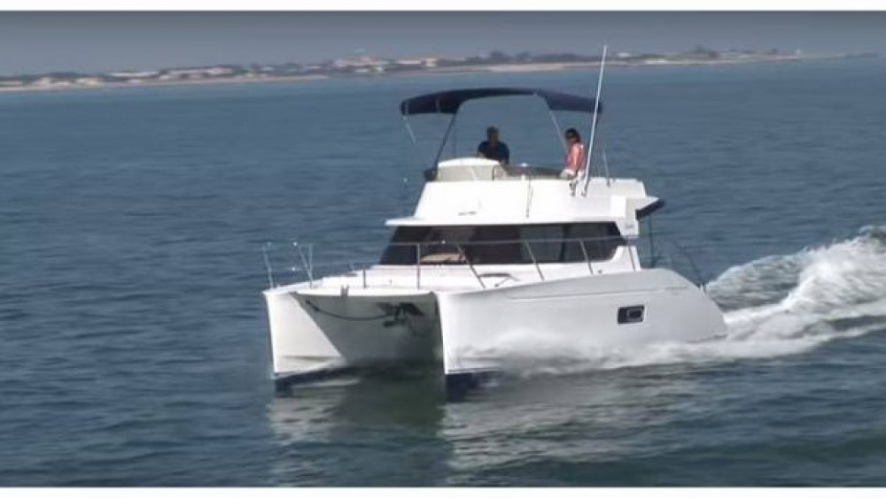 Fountaine Pajot Highland 35 between personal and professional Toulon
