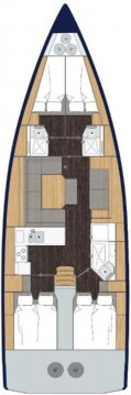 Rental yacht Biograd na Moru - Bavaria Bavaria C45 Holiday on SamBoat