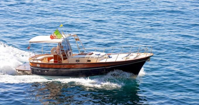 Rent a Fratelli Aprea Sorrento 32 Open Cruise Positano