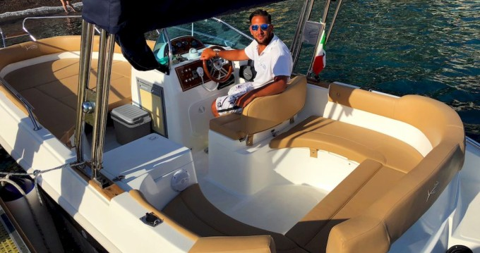 Boat rental Positano cheap Eden 22
