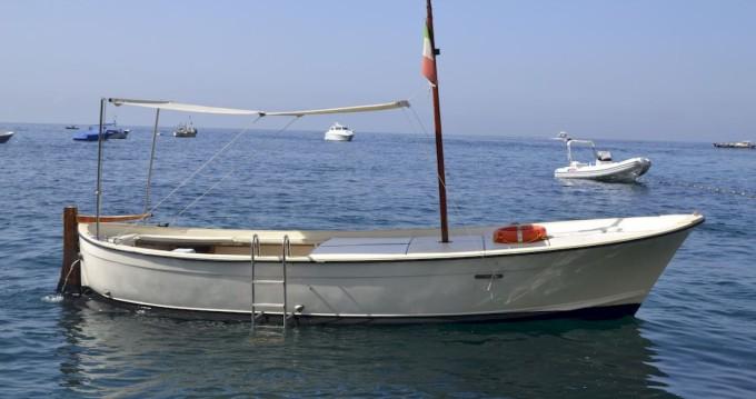 Nautica Esposito 7.50 Open  between personal and professional Positano