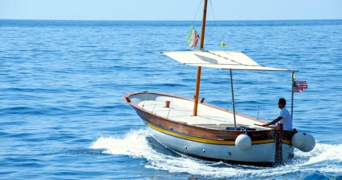 Boat rental Fratelli Aprea Sorrento 7,50 open cruise in Positano on Samboat