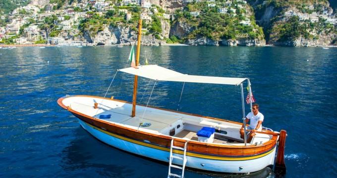 Fratelli Aprea Sorrento 7,50 open cruise between personal and professional Positano