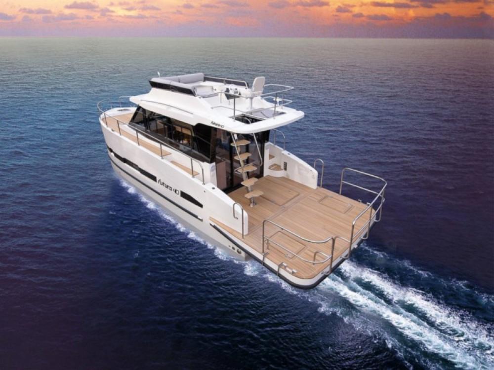 Boat rental Wilkasy cheap Futura 40 Grand Horizon