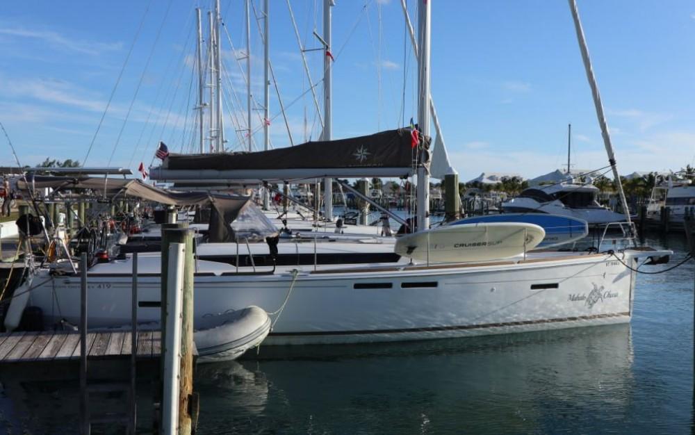 Boat rental New York cheap Sun Odyssey 419