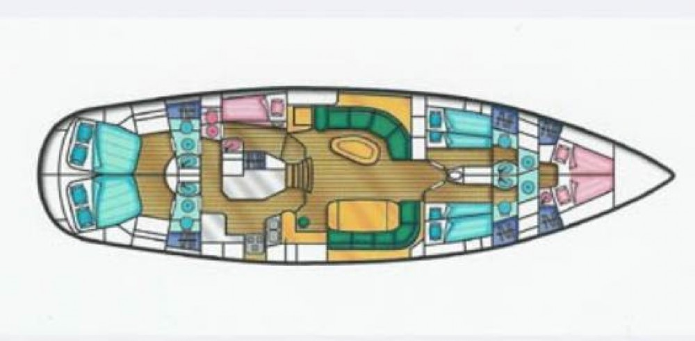 Hire Sailboat with or without skipper Tha Chao Ship builder Italy