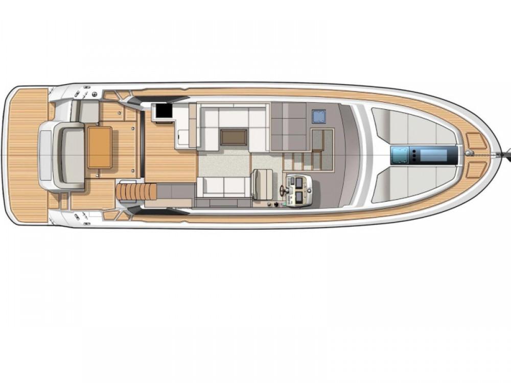 Rental Motorboat in Trogir - Bénéteau Monte Carlo 5