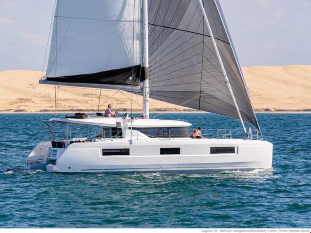 Boat rental Porto Pozzo cheap Lagoon 46
