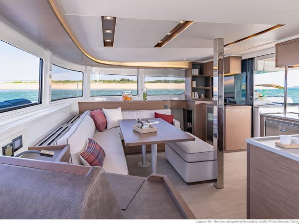 Rental yacht Porto Pozzo - Lagoon Lagoon 46 on SamBoat