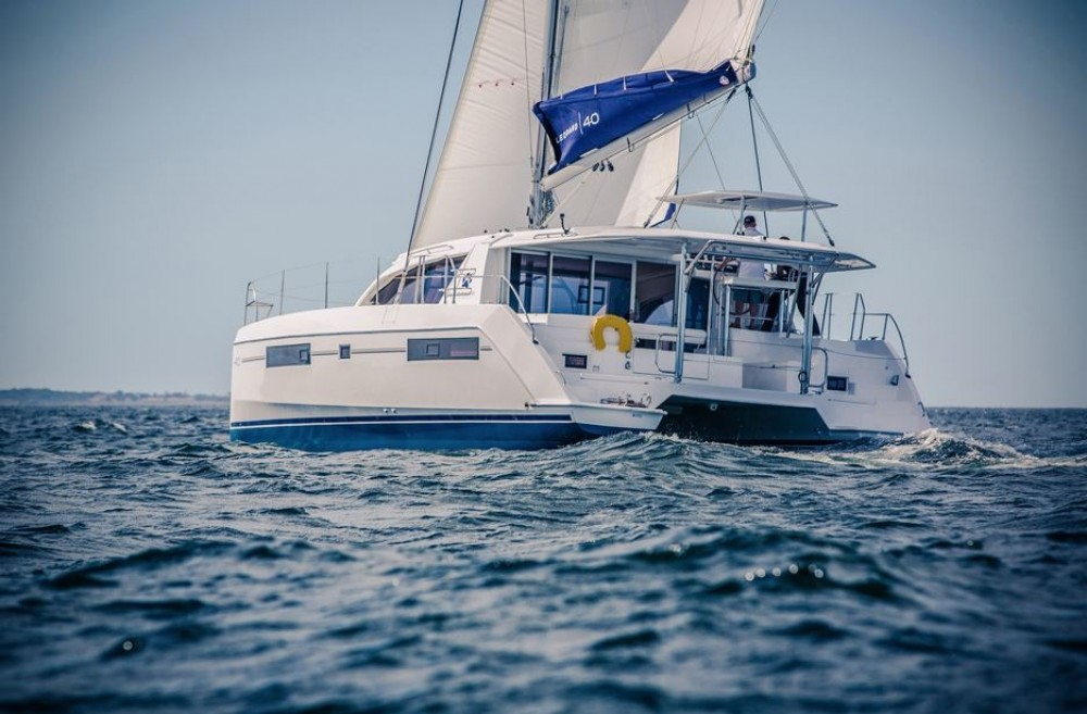 Rent a Robertson-Caine Moorings 4000 Key West