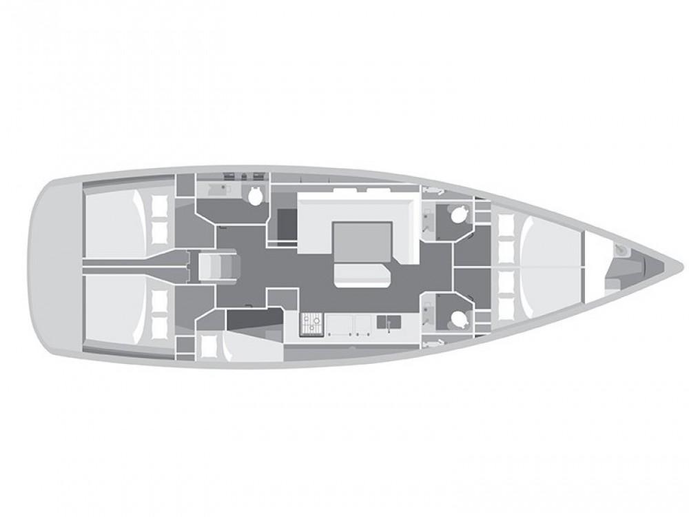 Boat rental Jeanneau Sun Odyssey 509 in Lefkada on Samboat