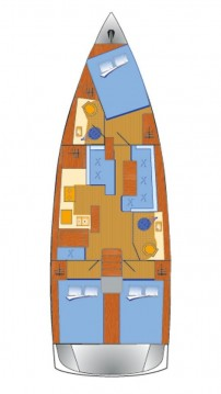 Jeanneau Sun Odyssey 410 between personal and professional Punat