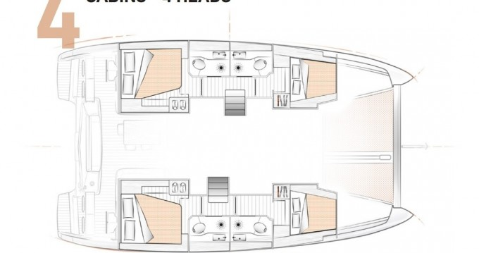 Rental yacht San Vincenzo -  Excess 12 on SamBoat
