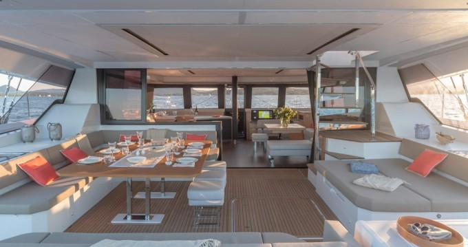Fountaine Pajot Alegria 67 between personal and professional Athens
