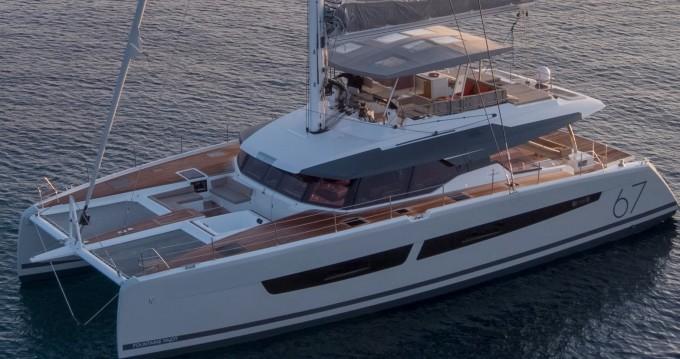 Rental Catamaran in Athens - Fountaine Pajot Alegria 67
