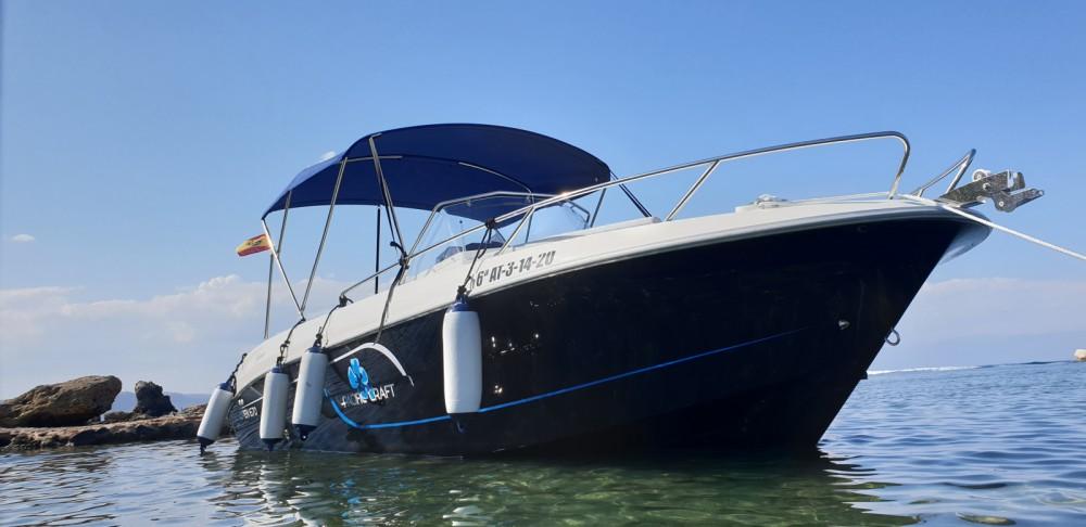 Boat rental Alicante cheap Pacific Craft 670 Open