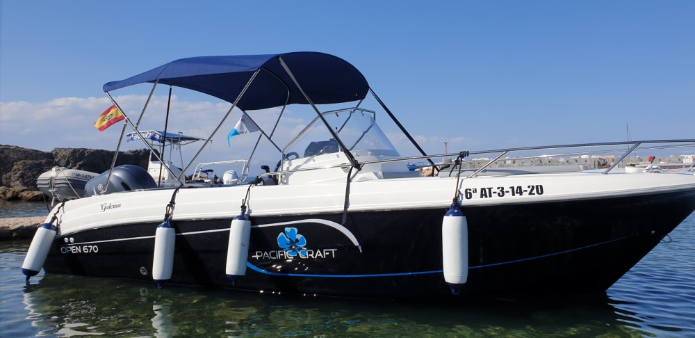 Rent a Pacific Craft Pacific Craft 670 Open Alicante