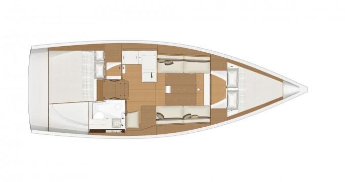 Boat rental Dufour Dufour 360 Grand Large in Porto di Balestrate on Samboat