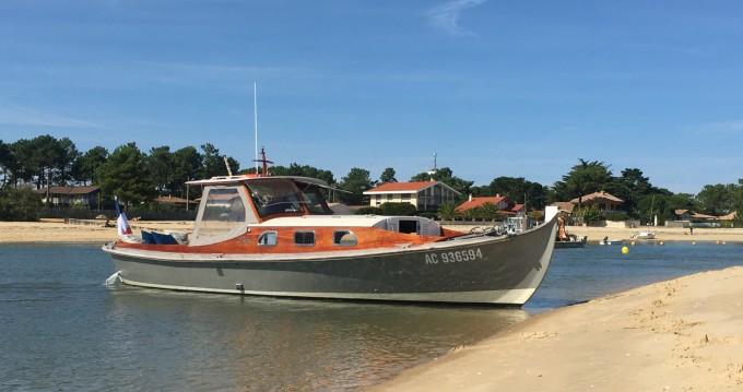 Rental Motorboat in Arcachon - Raba Pinasse