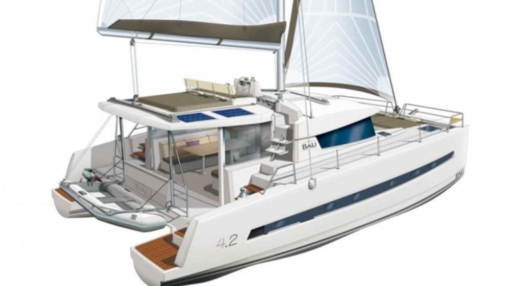Rental Catamaran in Croatia - Catana Bali 4.2