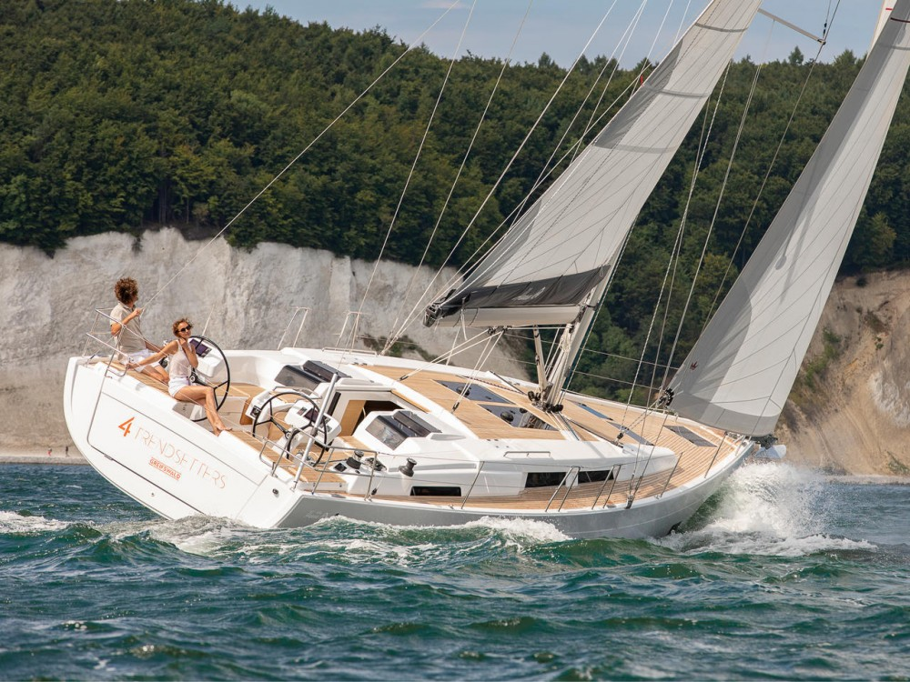 Rental Sailboat in Croatia - Hanse Hanse 458 - 3 cab.