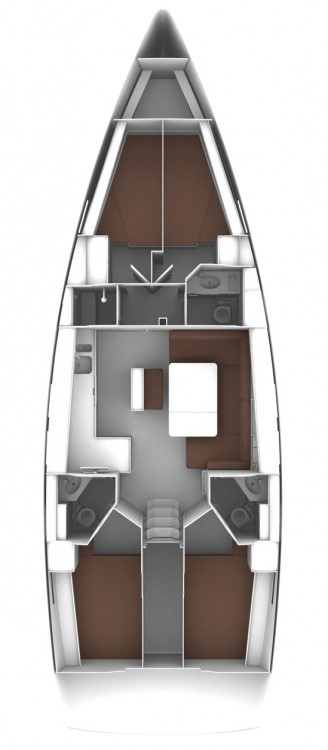 Bavaria Bavaria Cruiser 46 - 4 cab. between personal and professional Croatia