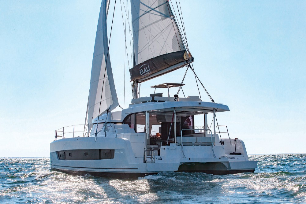 Boat rental Croatia cheap Bali Catspace