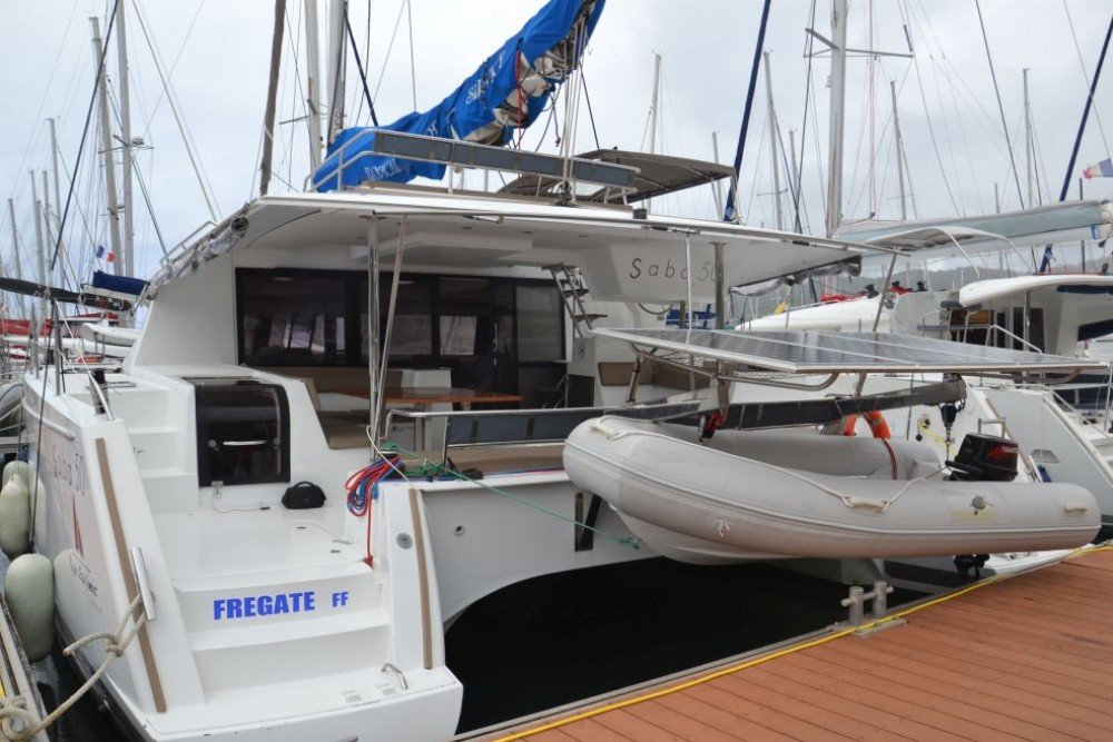 Rental Catamaran in US Virgin Islands - Fountaine Pajot Saba 50