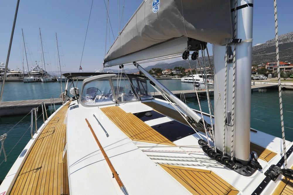 Boat rental Croatia cheap Hanse 505