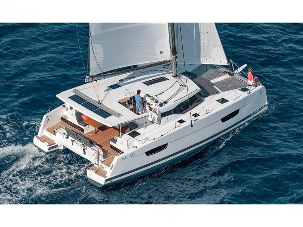 Rental Catamaran in Lefkada - Fountaine Pajot Fountaine Pajot Isla 40
