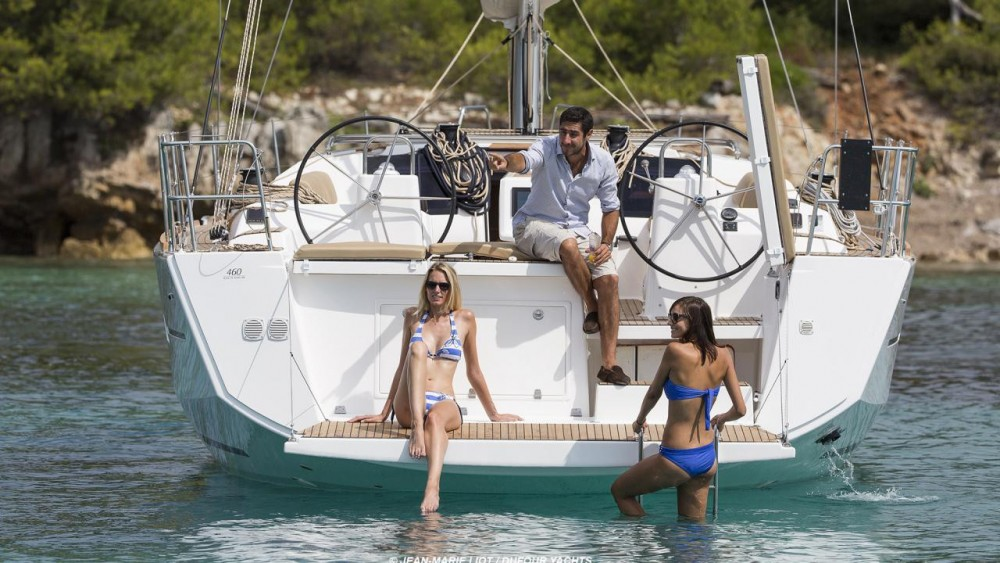 Rental Sailboat in Jolly Harbour - Dufour Dufour 460 Grand Large