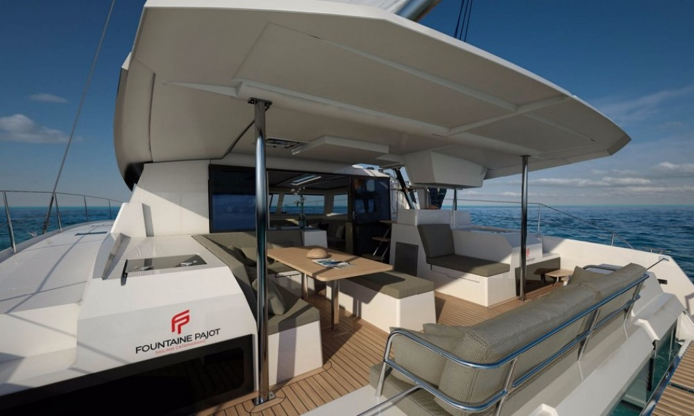 Fountaine Pajot Saona 47 between personal and professional Airlie Beach