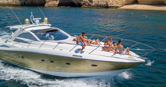 Boat rental Albufeira cheap Predator 55