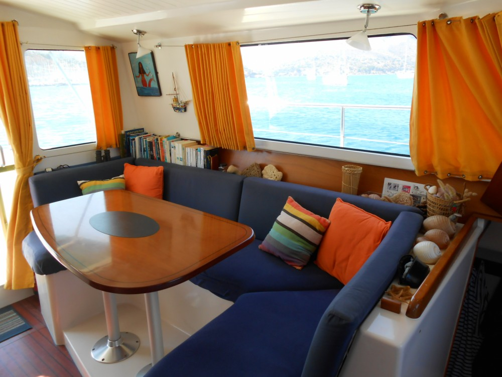 Fountaine Pajot Greenland 34 between personal and professional Fréjus