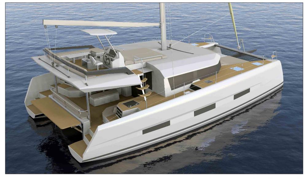 Rental yacht Rogoznica - Dufour Dufour 48 Catamaran - 5 + 1 cab. on SamBoat