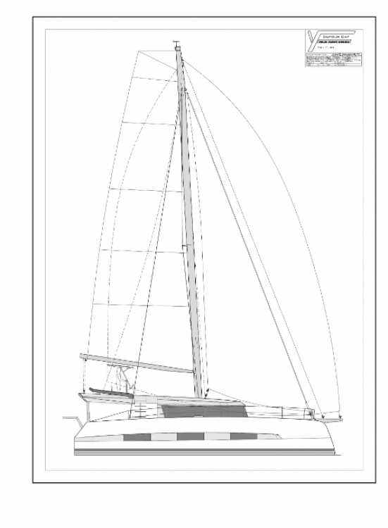 Boat rental Dufour Dufour 48 Catamaran - 5 + 1 cab. in Rogoznica on Samboat