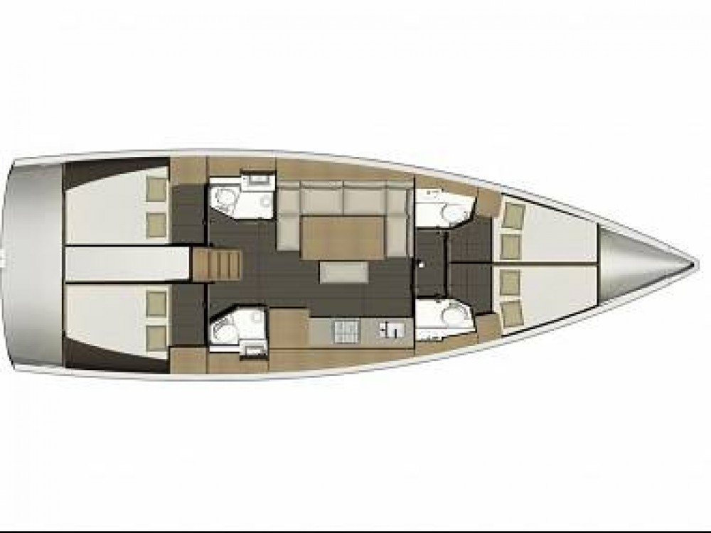 Boat rental Palermo cheap Dufour 460